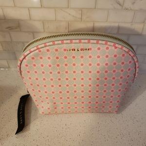 Love & Lore Cosmetic Bag NWT